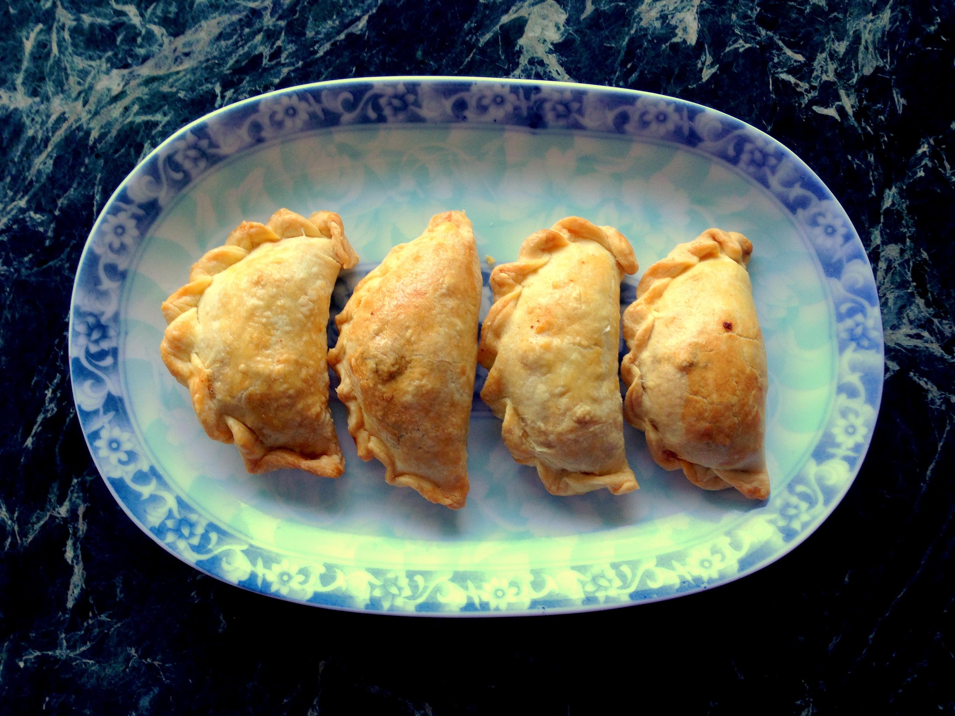 Argentinian Chicken Empanadas