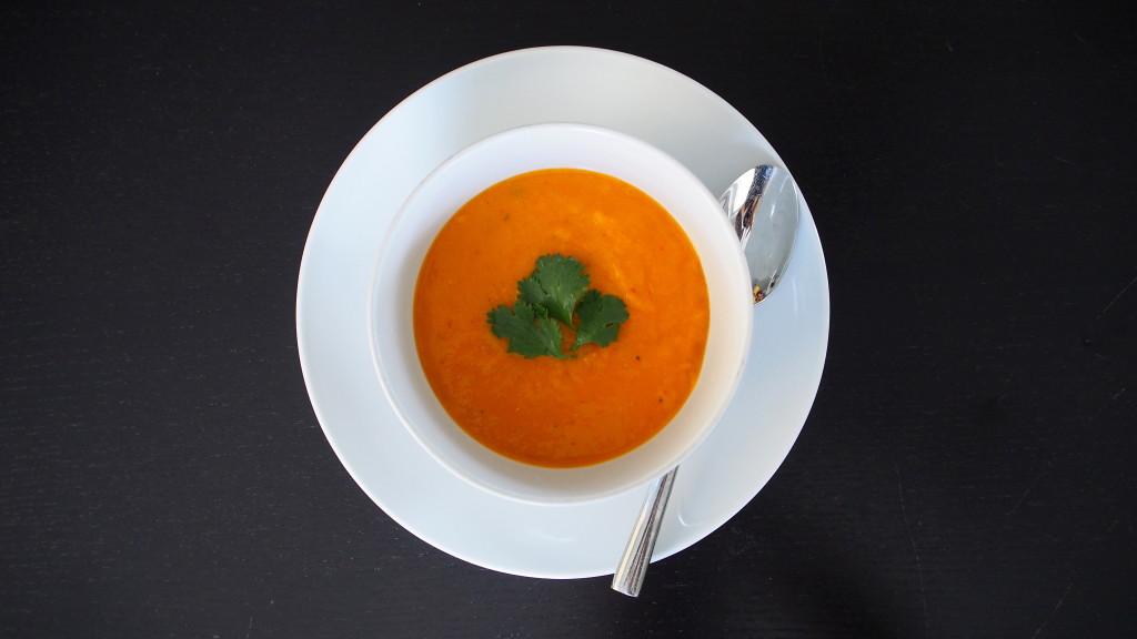 butternut squash thai curry soup