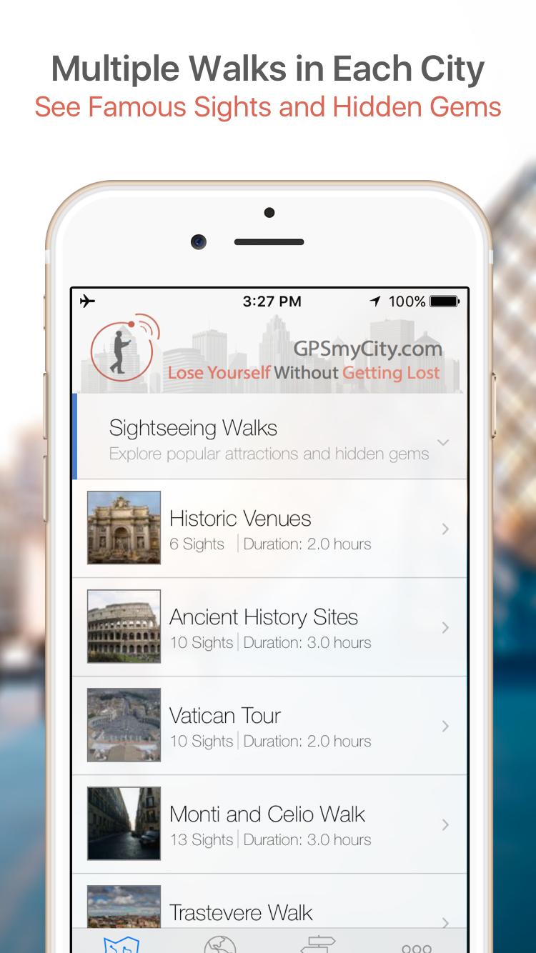 Be Your Own Tour Guide with GPSmyCity