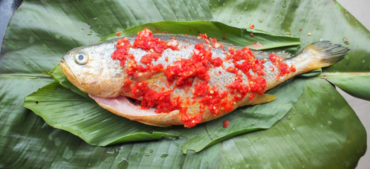 Baked Malaysian Spicy Whole Fish